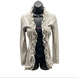 🌞Guinevere Beige Sweater Cardigan Woman's Small